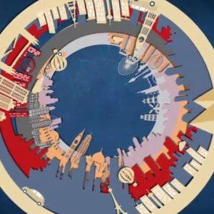 carte de voeux animée 2021
